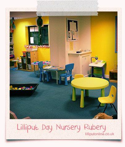 Sunshine Room Rubery Day Nursery