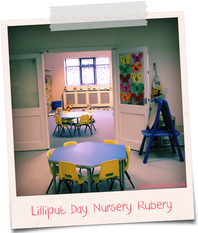 the little learners room at rubery day nursery birmingham