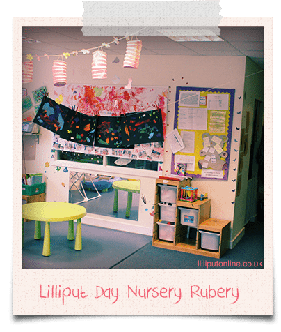 the rainbow room at lilliput day nursery in birmingham