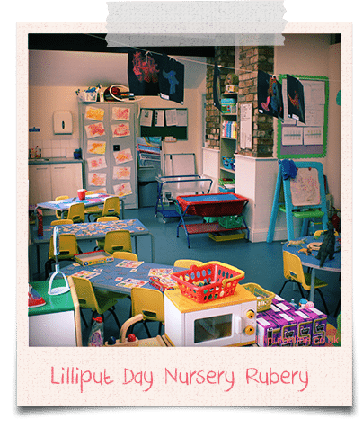 pre school day nursery room
