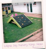 Day Nursery in Kings Heath Play Slide