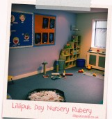 the toy corner at rubery little learners are