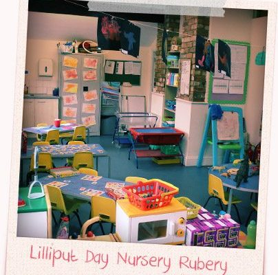 photograph of the pre school room at rubery day nursery