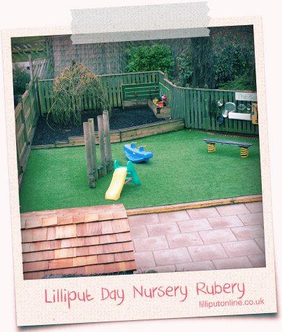 Birmingham Day Nursery Garden