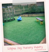 the garden at rubery day nursery