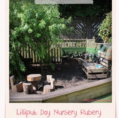 Lilliput-Rubery-Day-Nursery-Birmingham-Mud Kitchen & Den